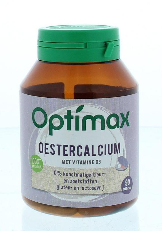Optimax Oesterkalk Calcium + Vitamine D3