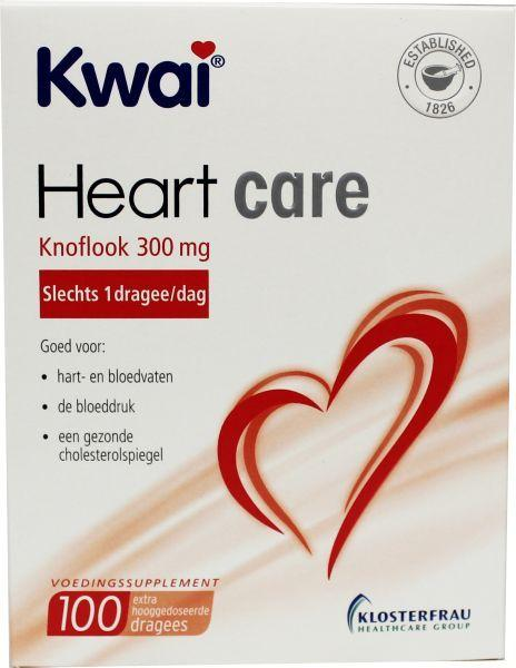 Kwai Heartcare Knoflook 300Mg