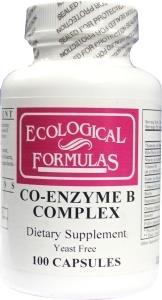 Afbeelding van Ecological Form Coenzym B Complex Gistvrij 100ca
