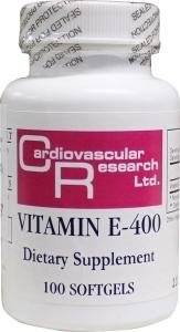 Cardio Vasc Res Vitamine E 400Ie