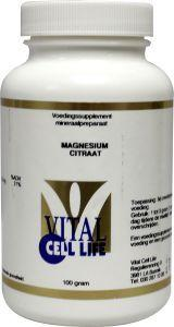 Vital Cell Life Magnesium Citraat 160 Mg Poeder