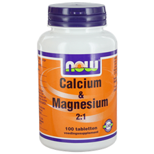 Calcium 500Mgmagnesium 250Mg Now