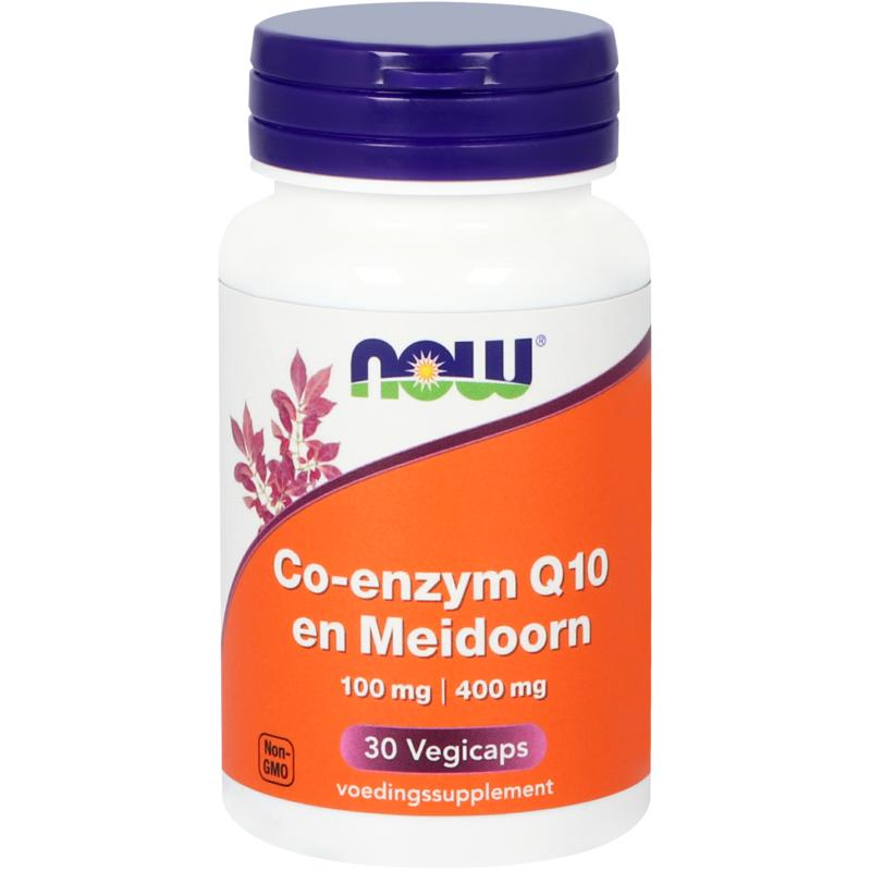 Now Co-Q10 100 Mg Met Meidoorn