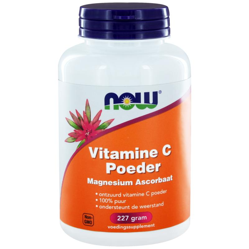 Now Vitamine C Poeder Magnesium Ascorbaat