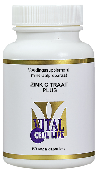 Vital Cell Life Zink Citraat Plus