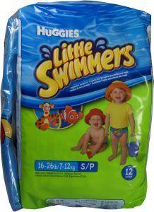 Huggies Little Swimmers Zwemluiers 7-15kg 7-12mnd 12 Stuks