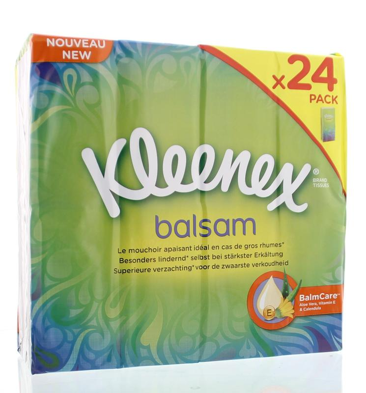 Kleenex Balsam Zakdoekjes Kim 24x9st