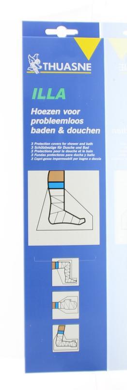 Beschermhoes bad douche voet