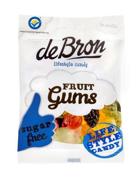 De Bron Gomvruchten Suiker Vrij Zak 100gram
