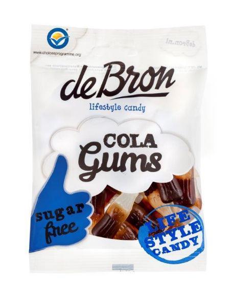 De Bron Colaflesjes Suiker Vrij Zak 100gram