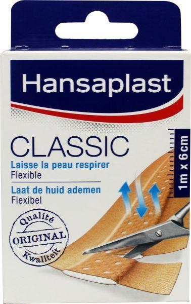 Hansaplast Pleisters Classic 1mx6cm 1mx6cm