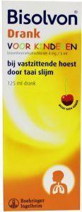 Bisolvon Hoestdrank Voor Kinderen Kersensmaak 125ml