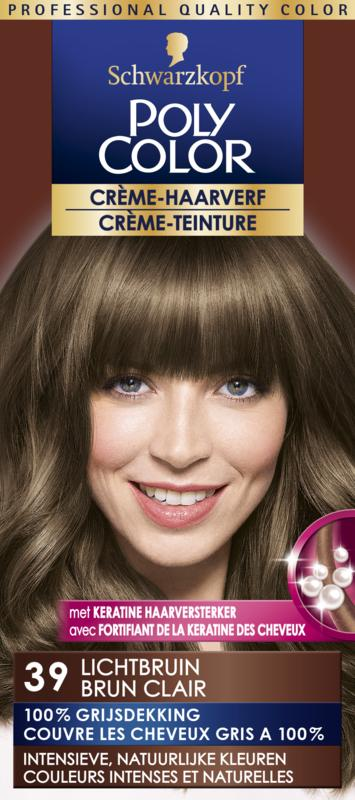 Poly Color Creme Haarverf 39 Lichtbruin