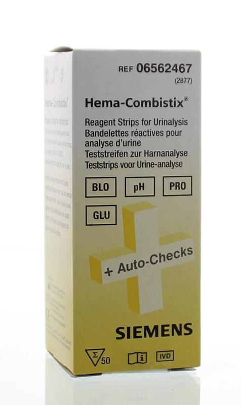 Siemens Medical Hema combistix strips urine 50st