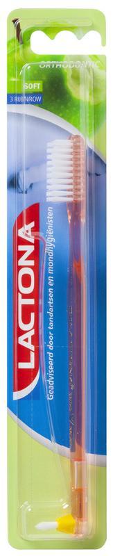 Lactona Tandenborstel Nylon 201 Orthod Stuk