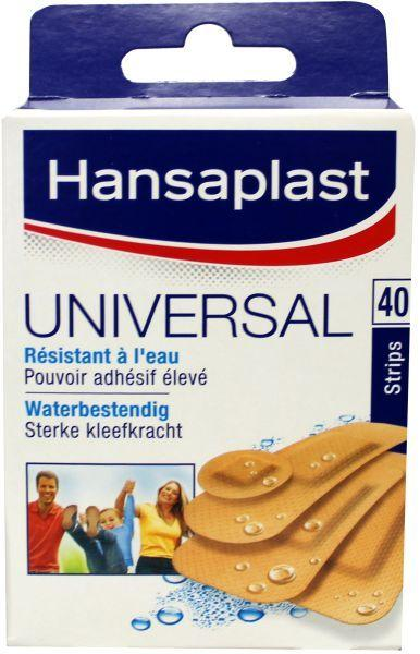 Hansaplast Pleisters Universeel Strips 45907 Water-resistant 40stuks