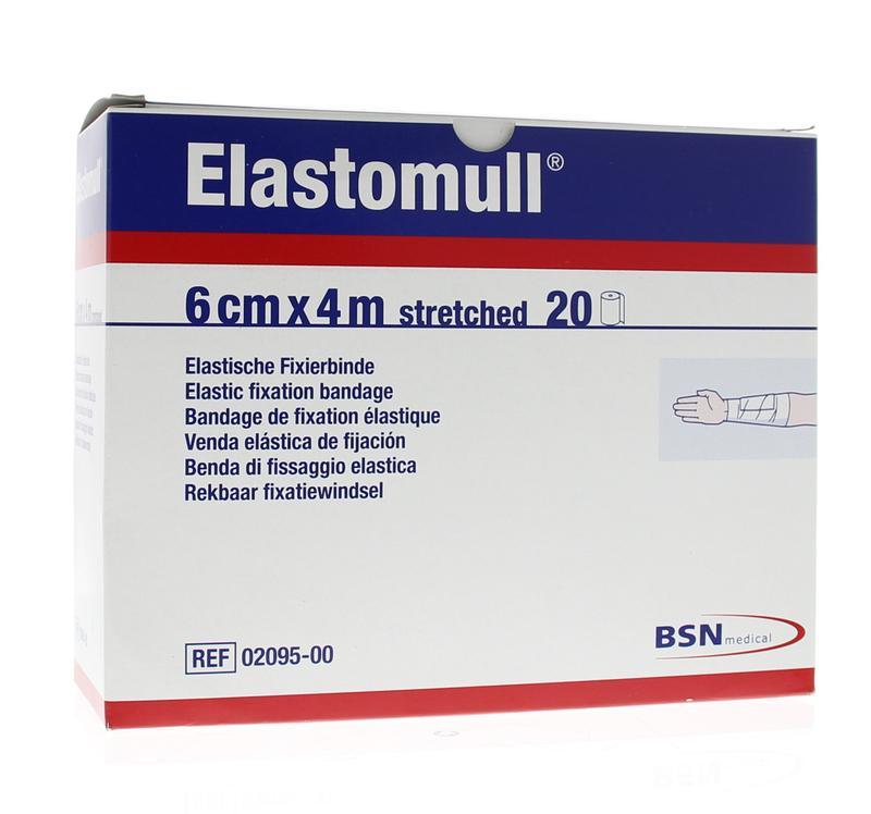 Afbeelding van Elastomull 6cm 2095 4m Plastic Verpakt (20rol)