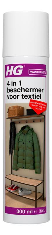 Hg Water, Olie, Vet and Vuil Dicht Voor Textiel 300ml