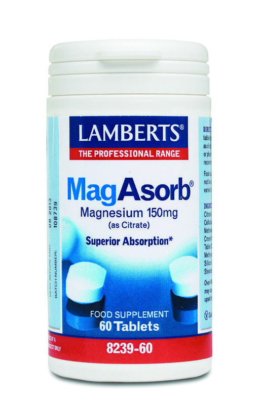 Lamberts Magasorb (Magnesium Citraat) 150 Mg