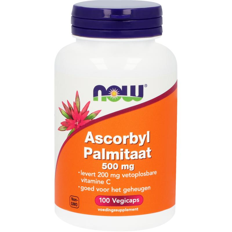 Now Ascorbyl Palmitaat 500 Mg