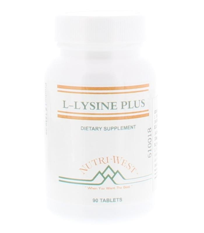 Nutri West L-Lysine Plus