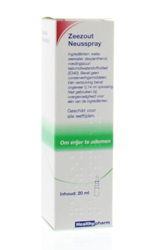 Healthypharm Zeezout Neusspray 20ml