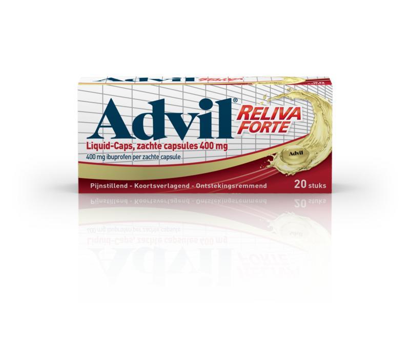 Advil Liquid Capsules 400mg 20caps