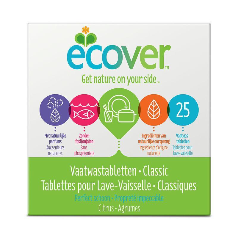 Ecover Vaatwasmachine Tabletten 25tab