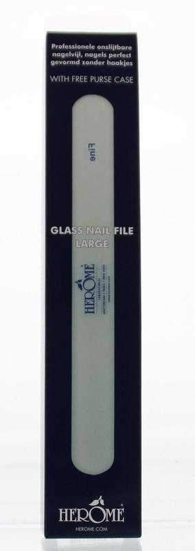 Herome Glass Nail File Stuk