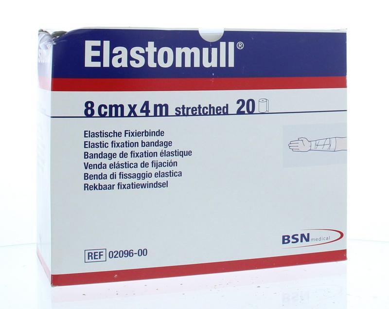 Afbeelding van Elastomull 4m X 8cm 2096 (20rol)