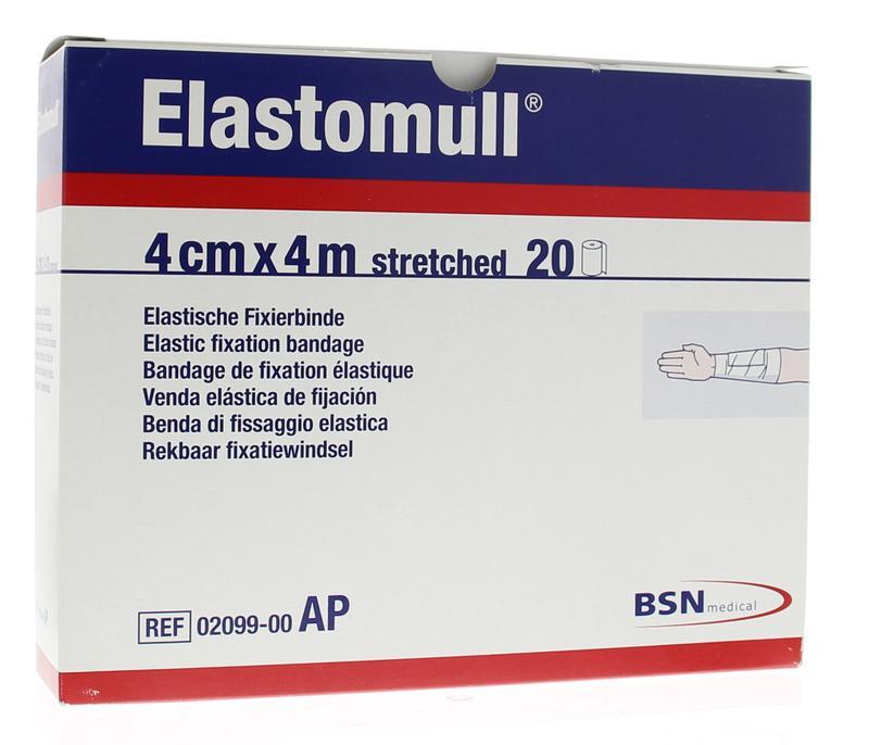 Afbeelding van Elastomull 4m X 4cm 2099 20rol