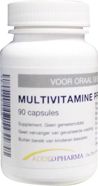 Afbeelding van Added Pharma Multivitamine Pro Haemo 90ca