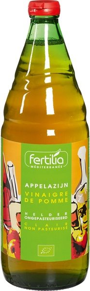 Fertilia Appelazijn Helder Eko 750ml