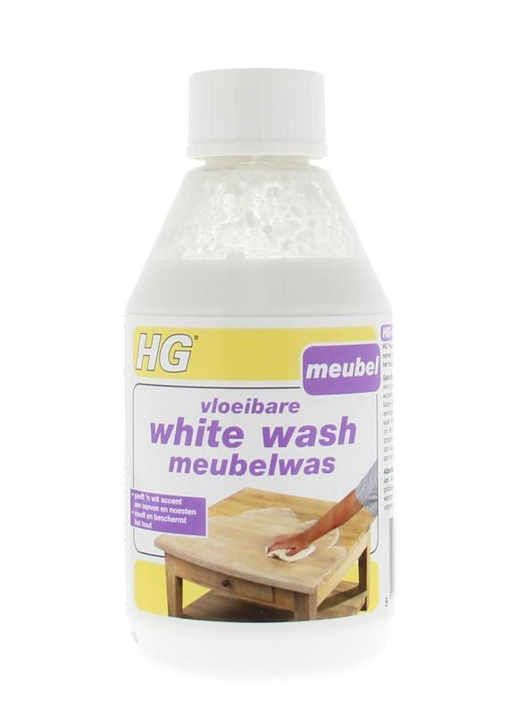 Hg Vloeibare White Wash Meubel 300ml