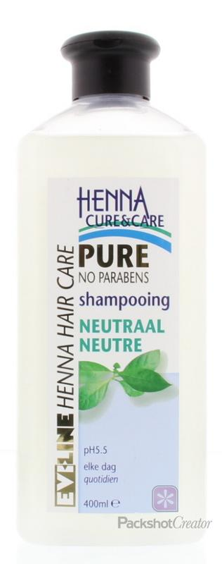 Henna Cure&Care Shampoo Pure Neutraal