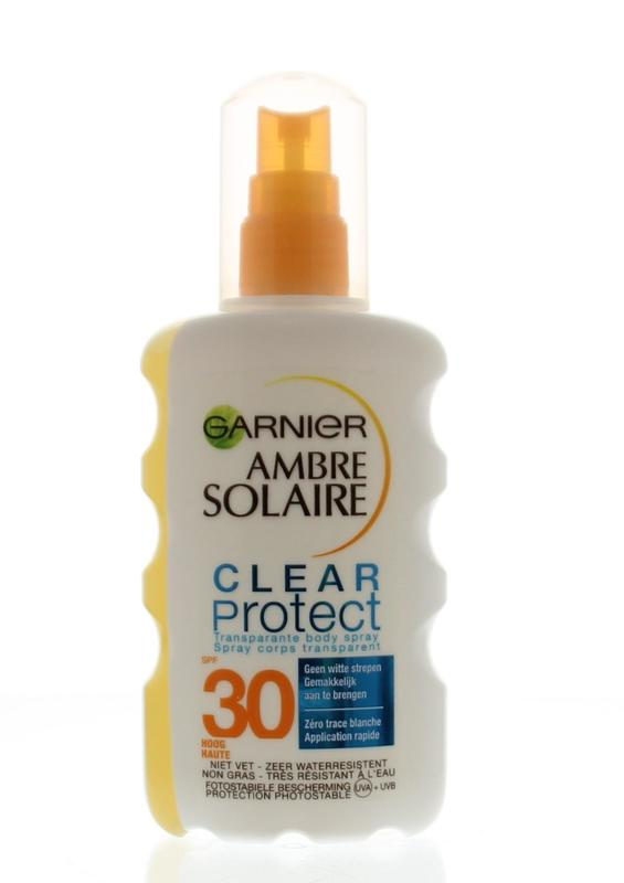 Garnier Ambre Solaire Clear Protect Spf 30 Spray