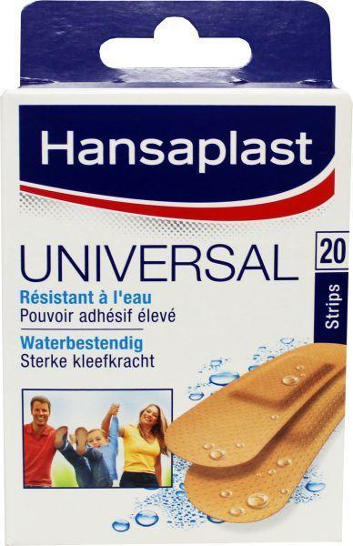 Hansaplast Pleisters Universeel 20 Strips 20stuks