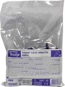 Flocare Universele Connector 5 Step Purple