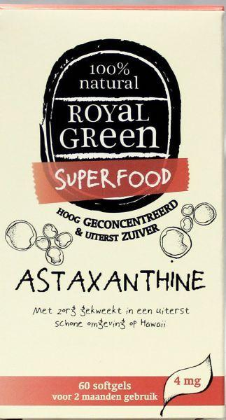 Royal Green Astaxanthine - 60 softgels