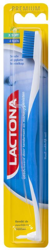 Lactona Tandenborstel Iq Nylon Extra-soft Stuk