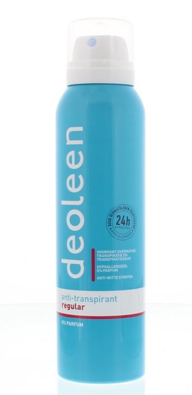 Deoleen Deodorant Satin Spray Zonder Parfum En Zonder Alcohol 150ml