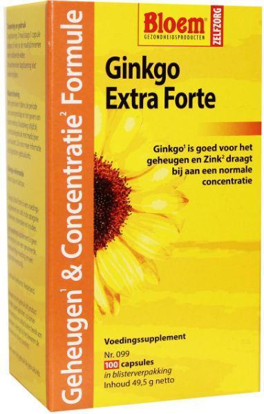 Afbeelding van Bloem Ginkgo Extra Forte 100ca