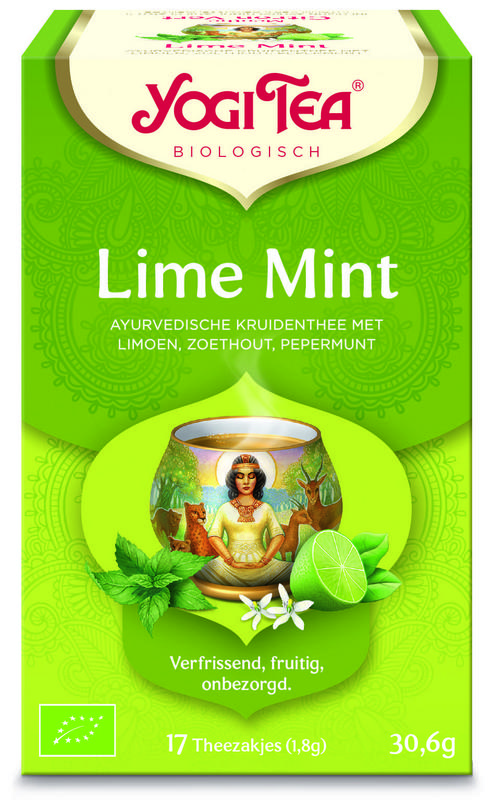 Yogi Tea Lime Mint