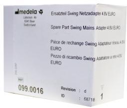 Medela Swing adapter 4.8 volt