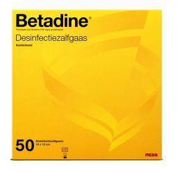 Betadine Desinfectie Zalfgazen 50st
