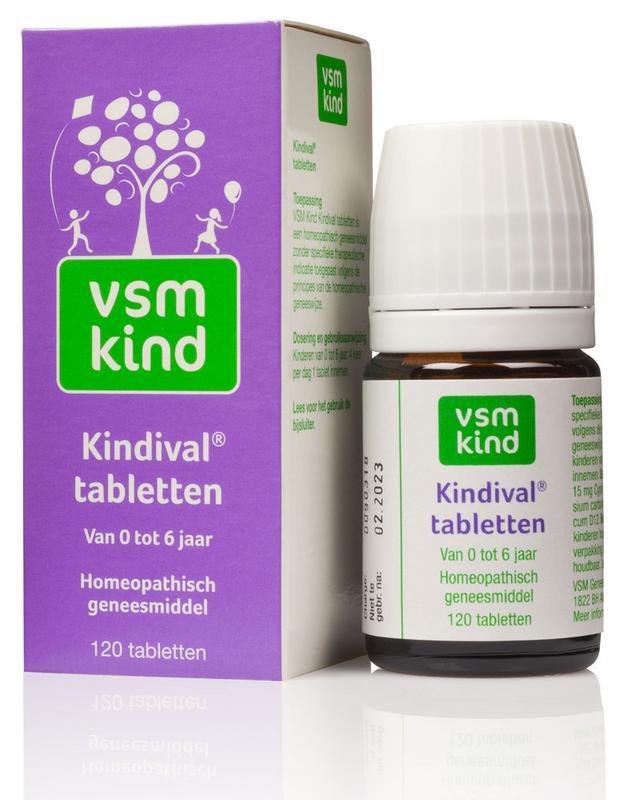 Vsm Kind Kindival Tabletten 120tab