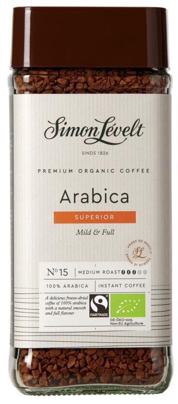 Levelt Oploskoffie 100% Arabic 100g