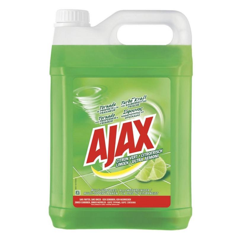 Afbeelding van Ajax Allesreiniger Limoen Fris 5000ml