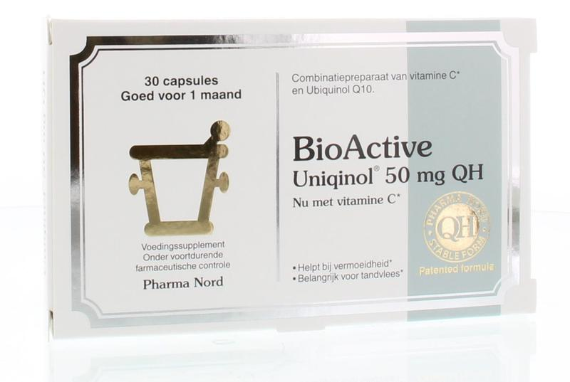 Pharma Nord Bio Active Uniquinol Q10 50 Mg
