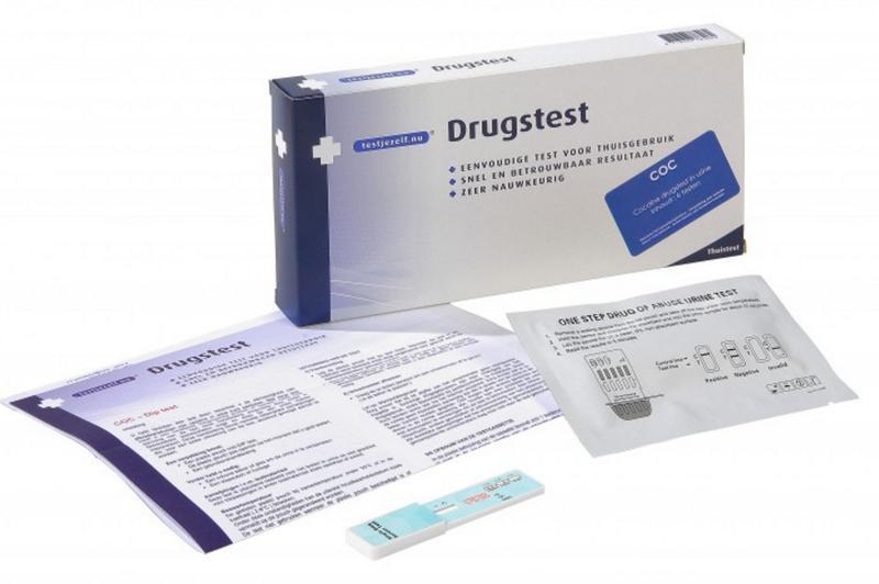 Testjezelf Drugstest Cocaine 3stuks